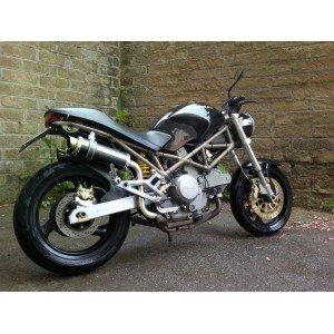 Scarichi Terminali Exhaust Ducati Monster Omologati Extreme Carbonio