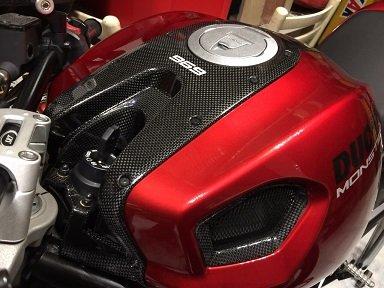 Copri Serbatoio Fascia Superiore Carbonio Ducati Monster 696 796