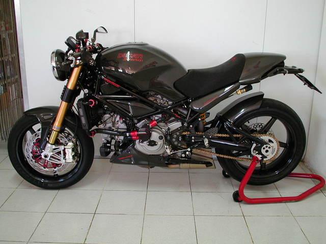 Parafango Anteriore Carbonio Ducati Monster S2r S4r S4rs Front Fender