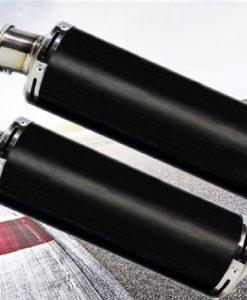 aprilia-dorsoduro-900-scarichi-terminali-tondo-titanio-black